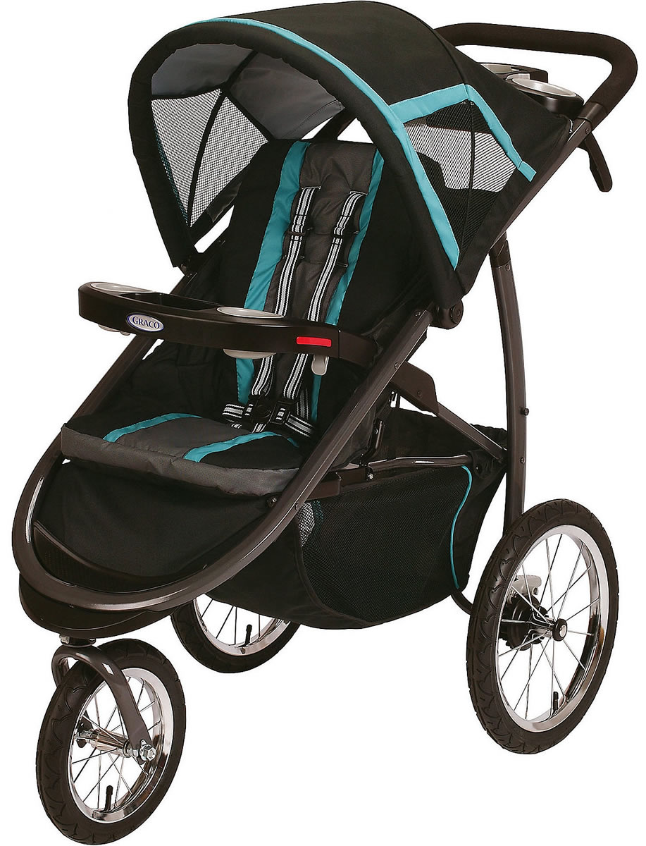Graco FastAction Fold Jogger Click Connect Stroller - Tidalwave