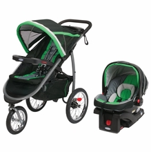 Graco Relay Click Connect Travel System Jaguar Review