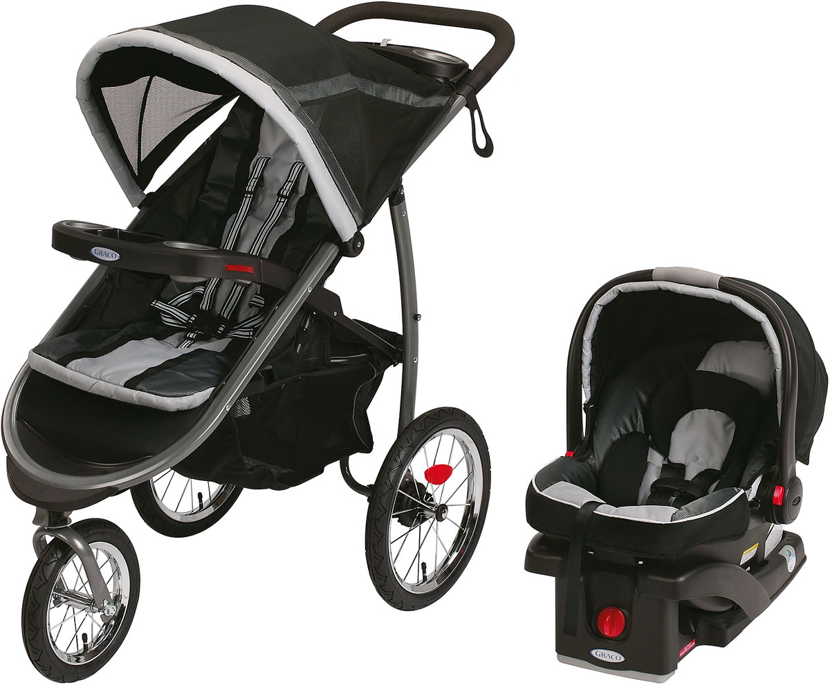 Graco FastAction Fold Jogger Click Connect Travel System ...