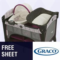 Graco: Free Sheet with Select Playards