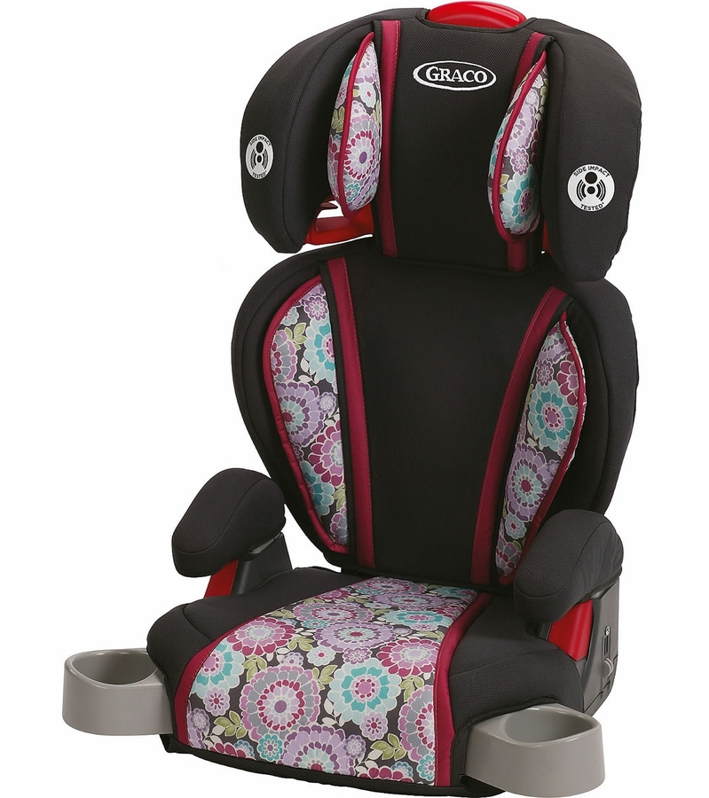 graco highback turbobooster car seat elaina. Black Bedroom Furniture Sets. Home Design Ideas