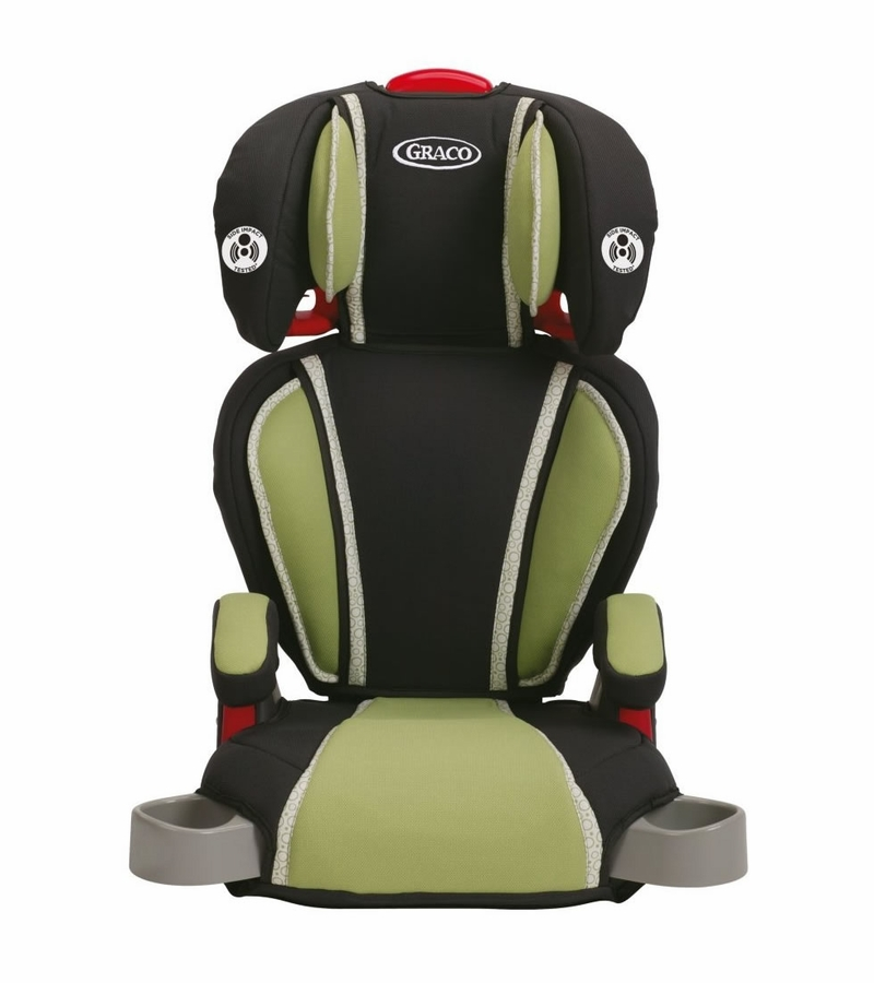 Graco Highback TurboBooster Car Seat - Go Green