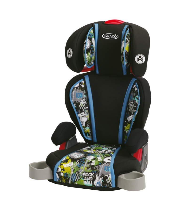 graco highback turbobooster car seat rockout. Black Bedroom Furniture Sets. Home Design Ideas