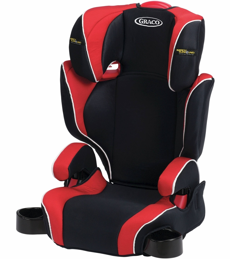 graco highback turbobooster car seat with safety surround rockford. Black Bedroom Furniture Sets. Home Design Ideas