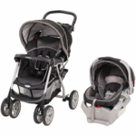 Graco Metrolite Travel System with Snugride 35 in Flint