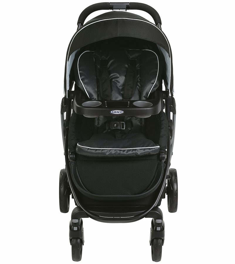 how to open graco click connect stroller