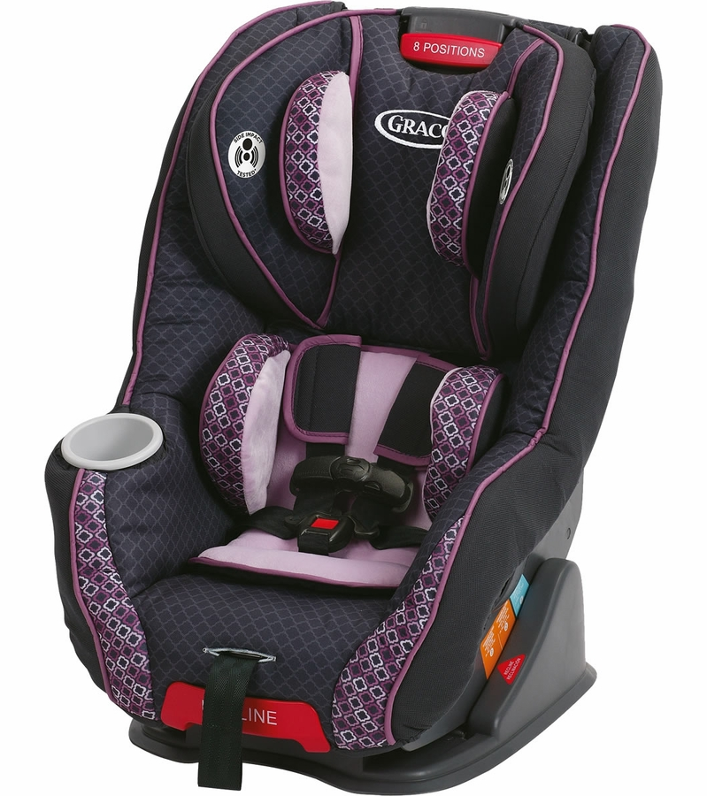 Car Seat Strap Covers Purple