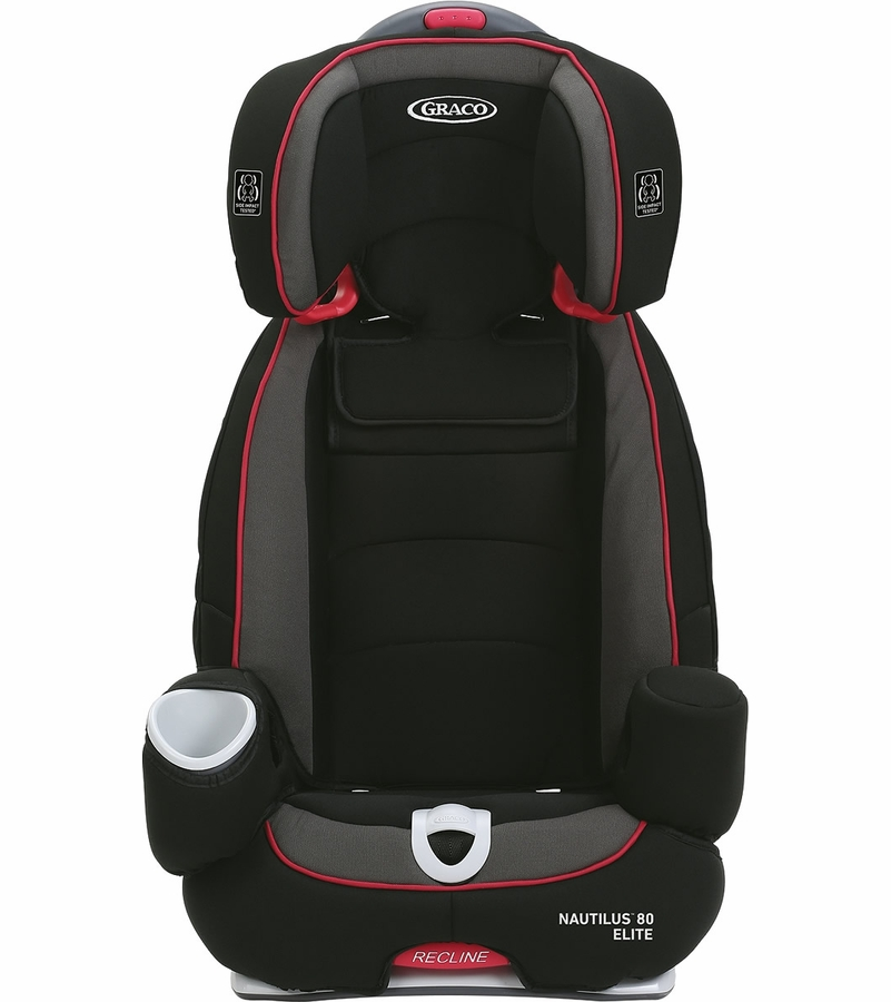 graco nautilus 80 elite 3 in 1 car seat chili red. Black Bedroom Furniture Sets. Home Design Ideas