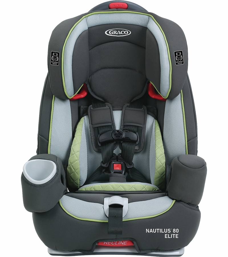 graco nautilus 80 elite 3 in 1 harness booster car seat go green. Black Bedroom Furniture Sets. Home Design Ideas