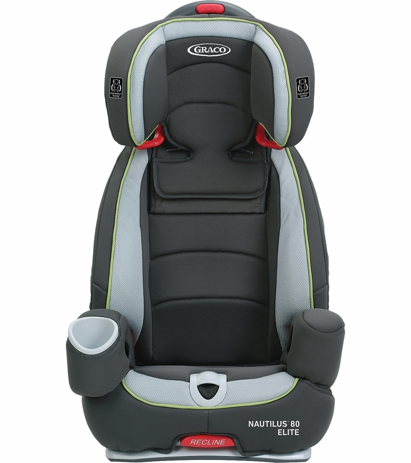 Graco Nautilus 80 Elite 3-in-1 Harness Booster Car Seat - Go Green