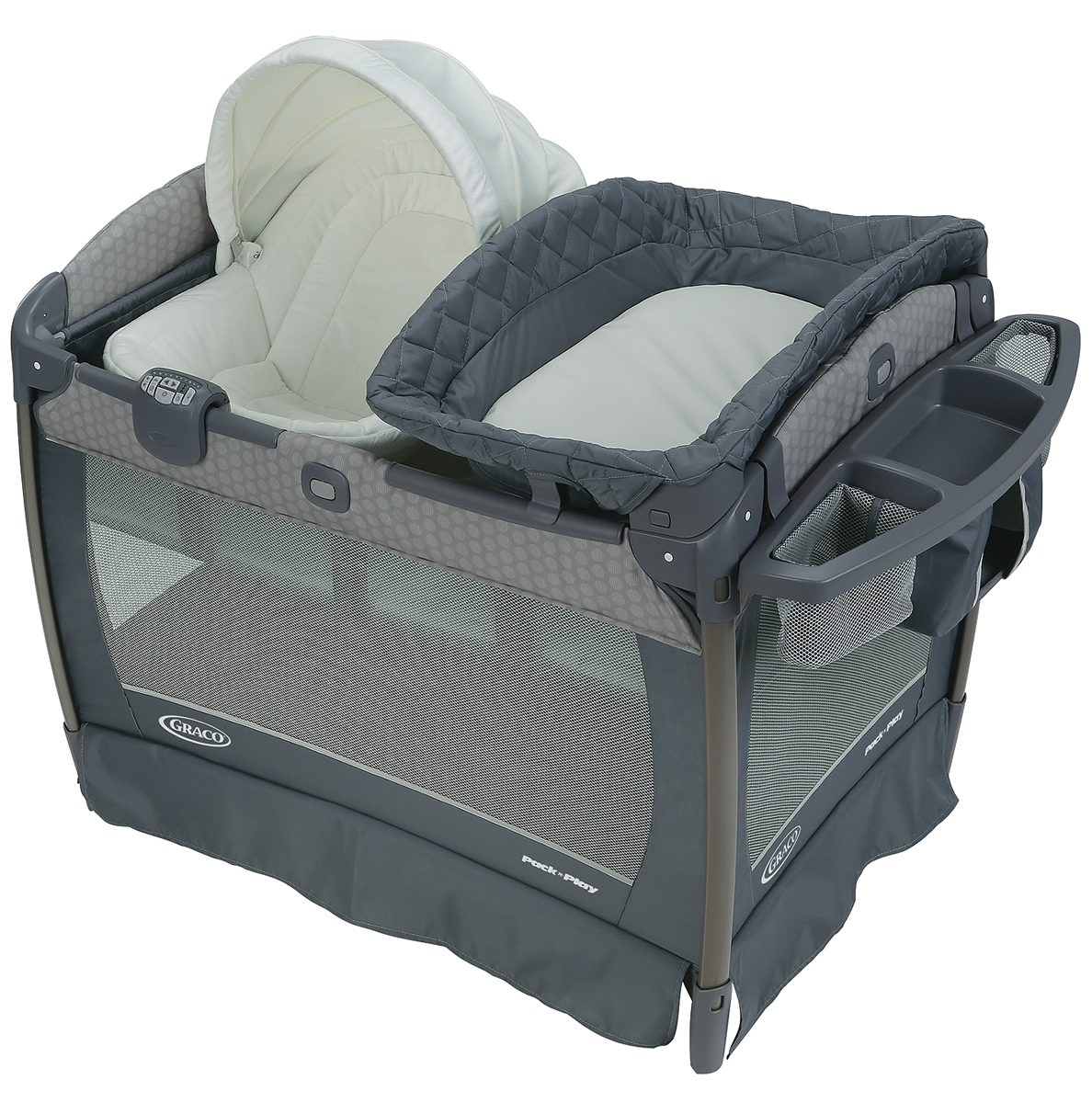 Graco Pack 'n Play Playard Newborn Napper Oasis with Soot...