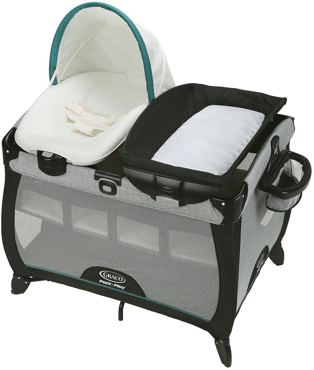 Graco Pack 'n Play Playard Quick Connect Portable Napper ...