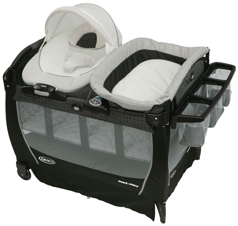 Graco Pack 'n Play Playard Snuggle Suite LX - Pierce