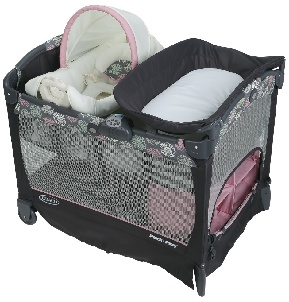 Graco Pack 'n Play Playard with Cuddle Cove Removable Sea...