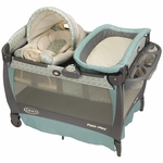 Graco Pack 'n Play Playard with Cuddle Cove Rocking Seat - Winslet