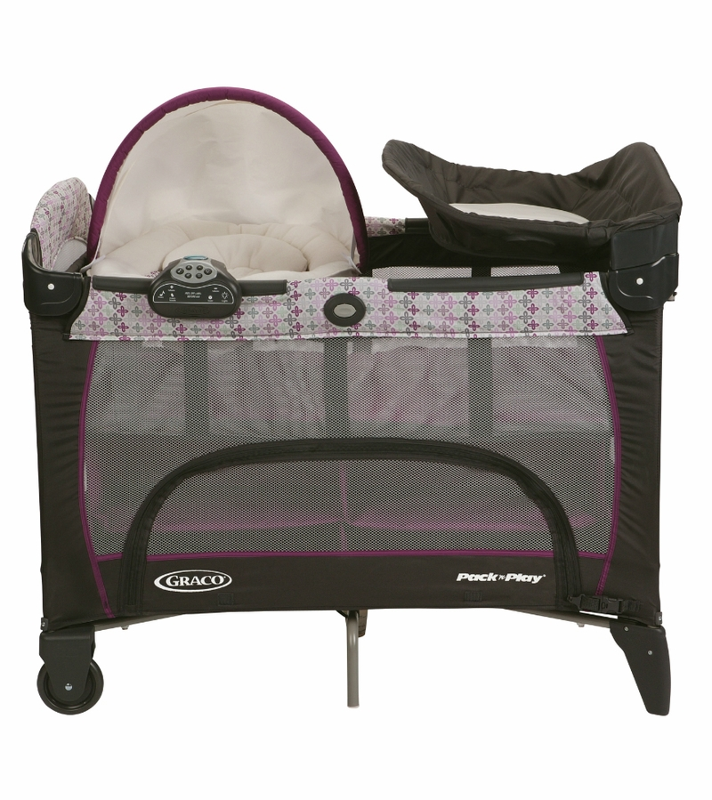 pack n play with bassinet and changing table graco rittenhouse cuddle cove travel bassinet crib. Black Bedroom Furniture Sets. Home Design Ideas