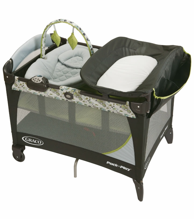 Graco Pack 39 N Play Playard With Newborn Napper Station Lx