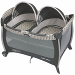 Graco Pack 'n Play Playard with Twins Bassinet - Vance