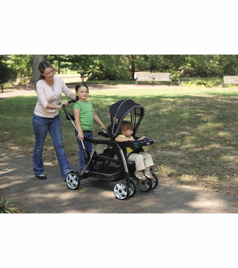 Graco Ready Grow Stand Ride Duo Stroller Oasis