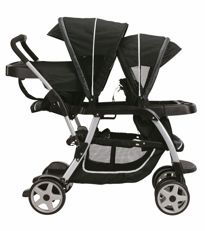 how to open graco duoglider double stroller
