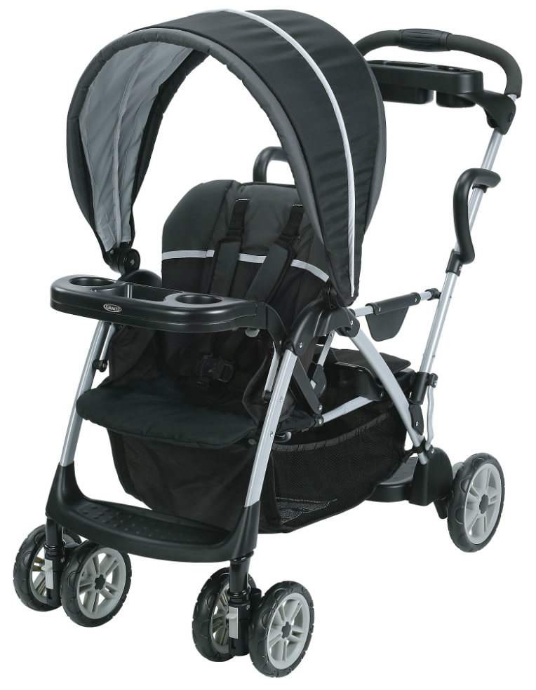 Graco RoomFor2™ Stand & Ride Stroller - Gotham