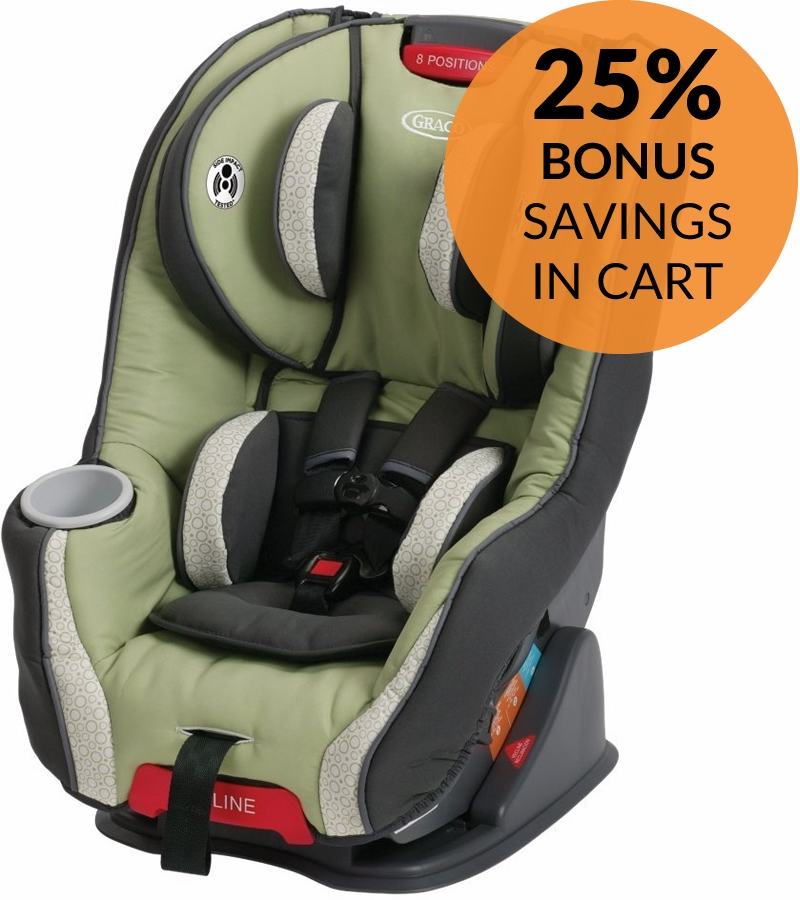graco size4me 65 convertible car seat 2016 go green. Black Bedroom Furniture Sets. Home Design Ideas