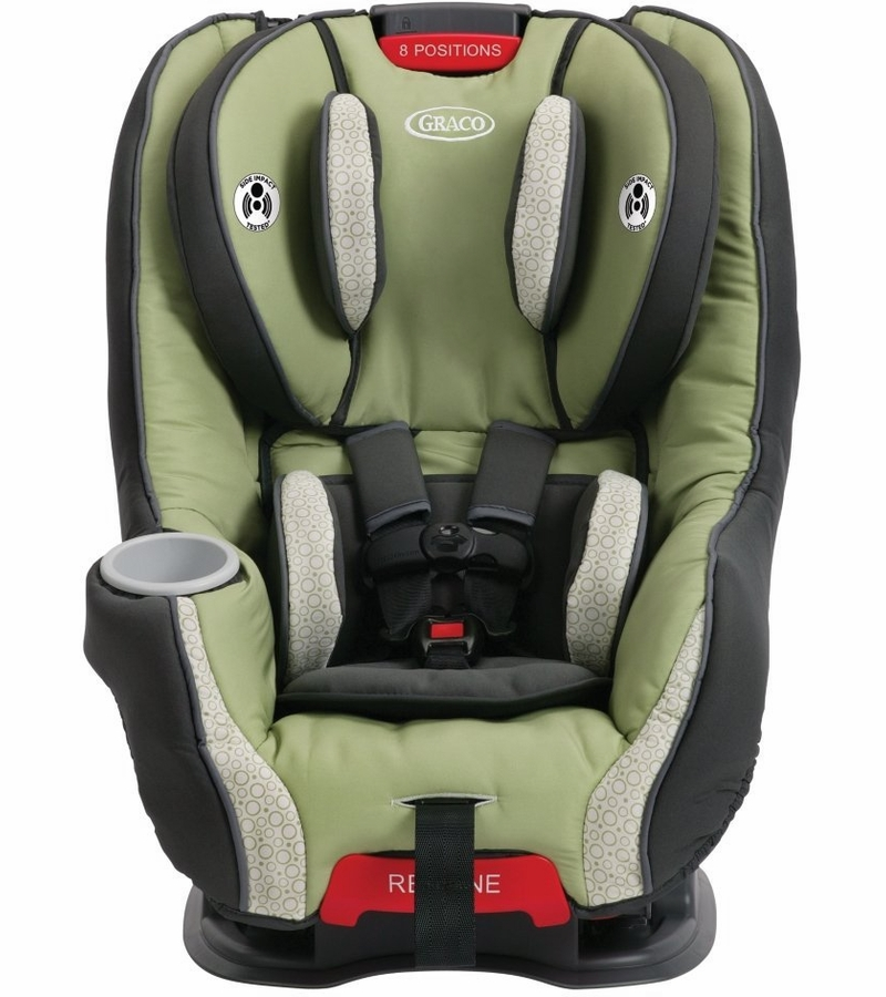 graco size4me 65 convertible car seat go green. Black Bedroom Furniture Sets. Home Design Ideas