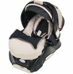 Graco SnugRide Classic Connect 22 Infant Car Seat, Platinum (Manufactured in 2013)