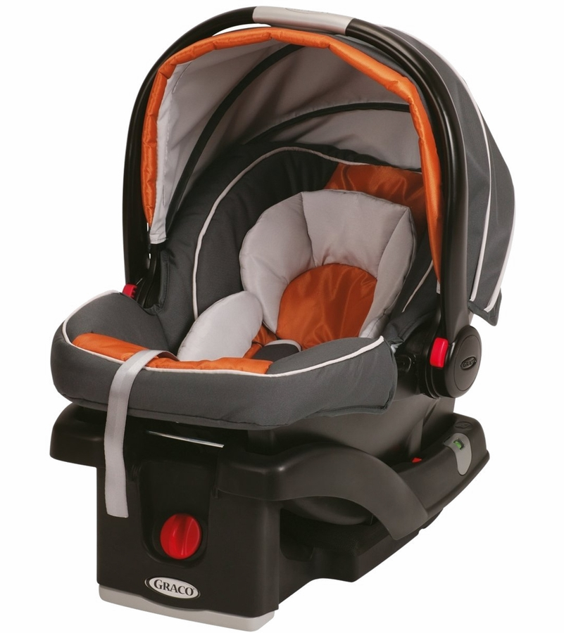 graco snugride click connect 35 infant car seat tangerine. Black Bedroom Furniture Sets. Home Design Ideas