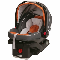 Graco SnugRide Click Connect 35 Infant Car Seat - Tangerine