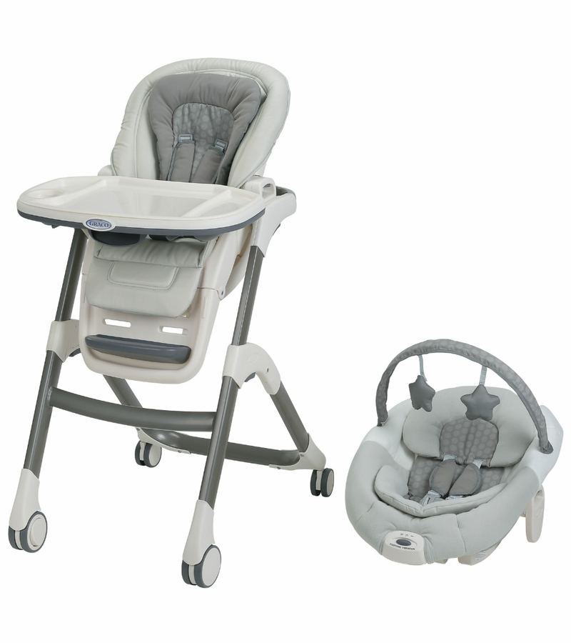 Graco sous chef high chair 5 in 1 seating system davis for Chaise haute graco contempo