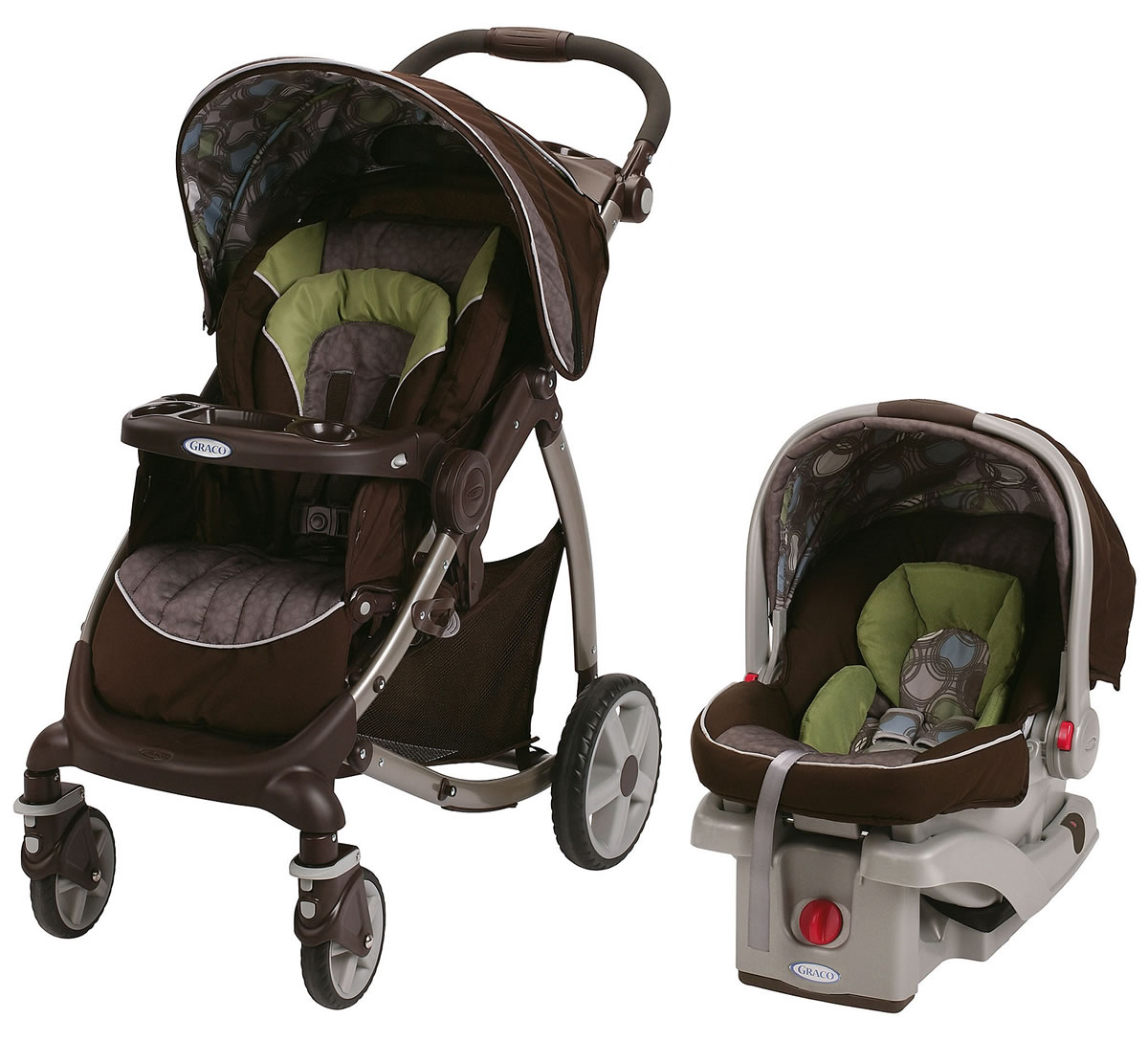 Graco Stylus Click Connect Travel System - Roundabout