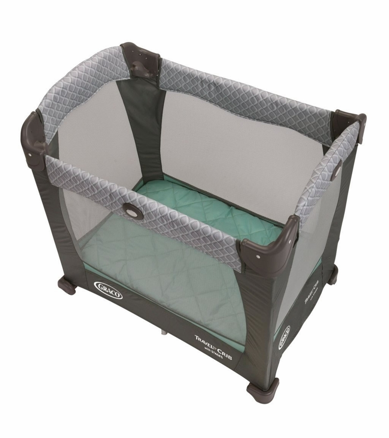 Graco Travel Lite Crib With Stages Manor