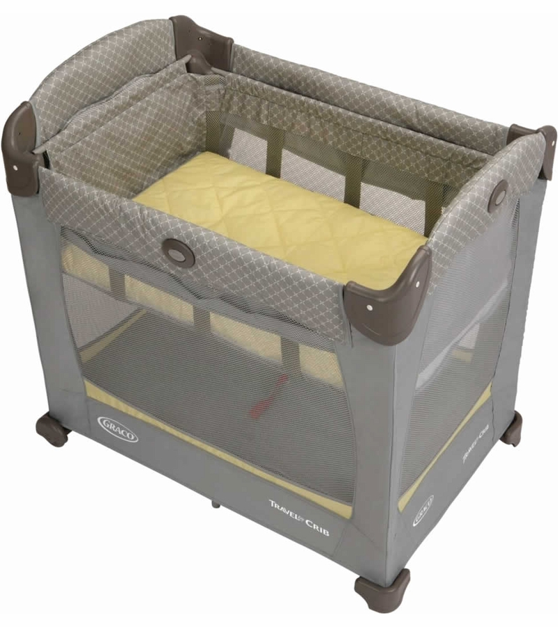 Graco Travel Lite Crib With Stages Peyton