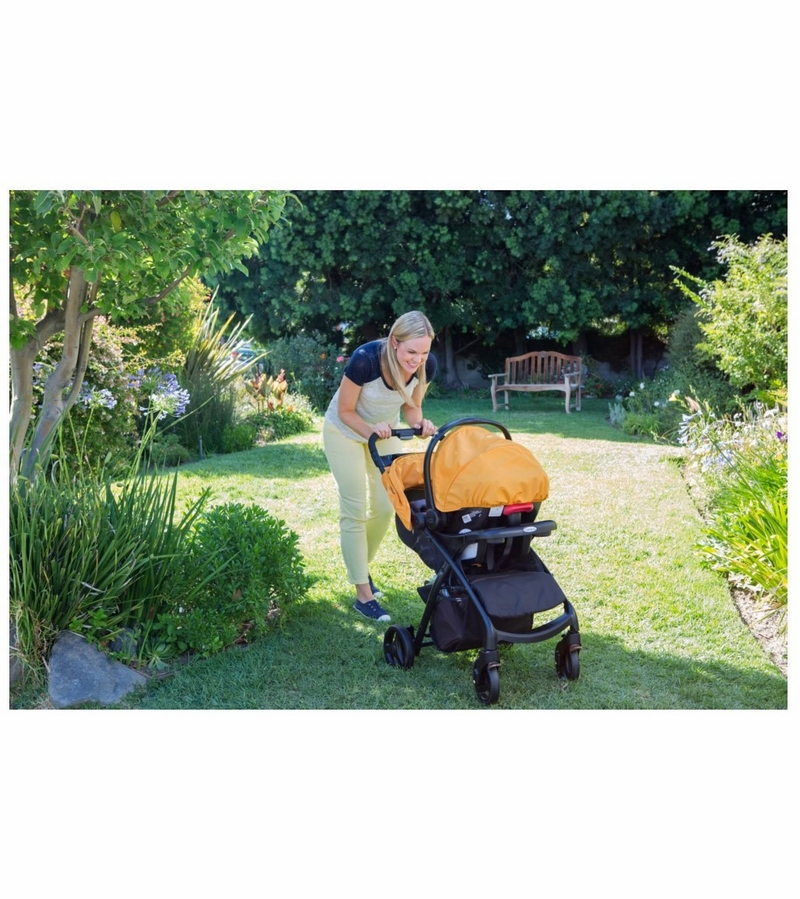 Graco Tangerine Travel System