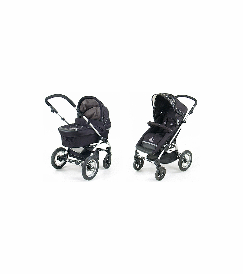 grand touring baby infinity stroller w pram rock star baby black. Black Bedroom Furniture Sets. Home Design Ideas