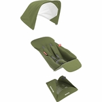 Greentom Reversible Seat Fabric Set - Olive