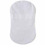 Halo Bassinest Fitted Sheet - White