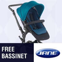 Jane: FREE BASSINET with Riders and Triders