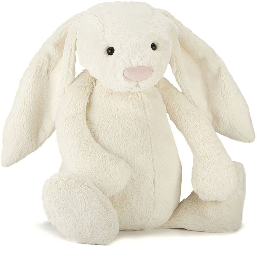 Jellycat Bashful Bunny Cream, 26""