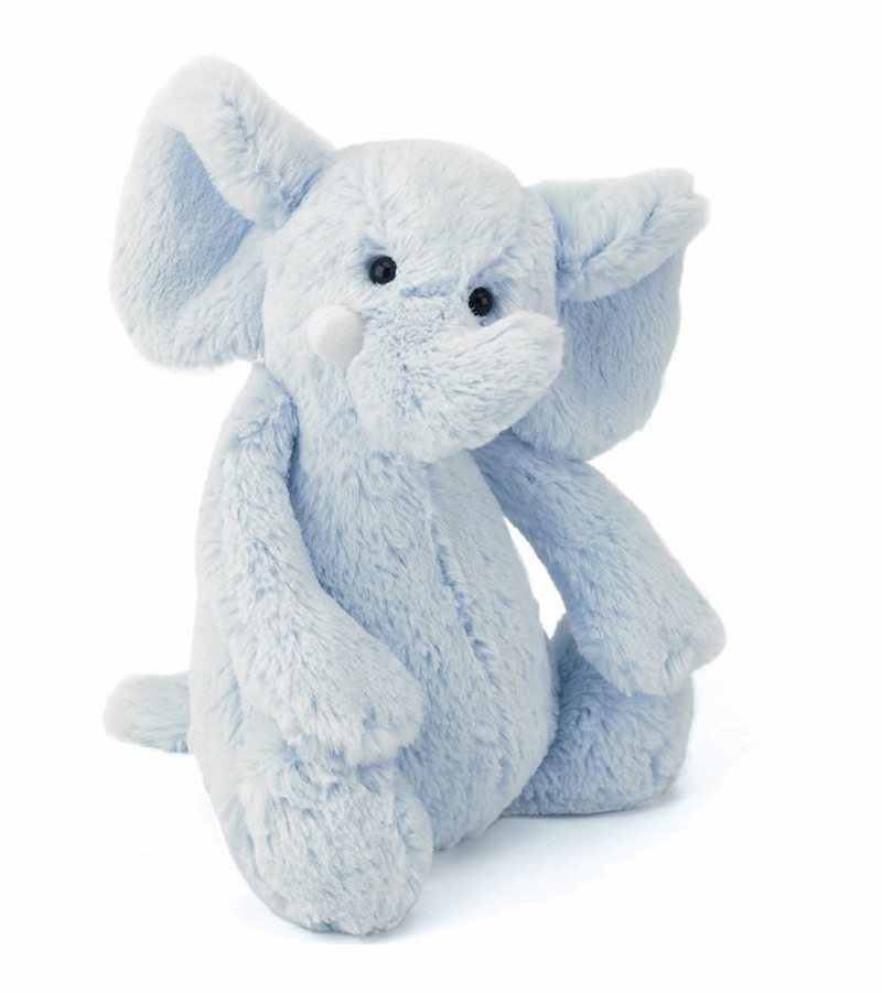 Jellycat 14 Quot Bashful Elephant Light Blue