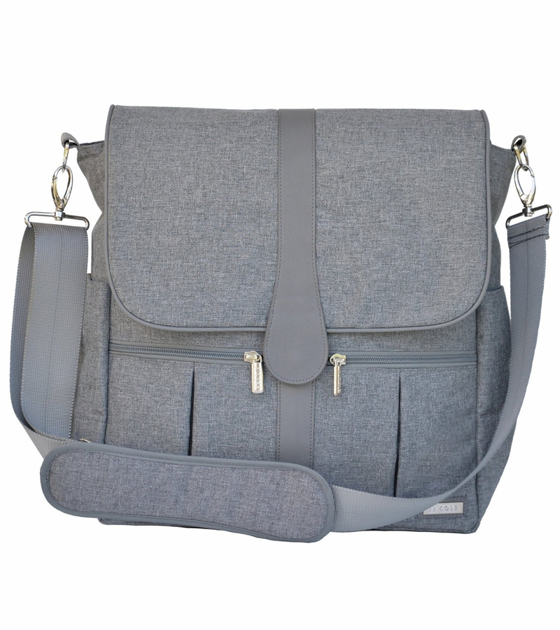 jj cole backpack diaper bag gray heather. Black Bedroom Furniture Sets. Home Design Ideas