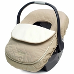 JJ Cole Infant Car Seat Cover - Khaki