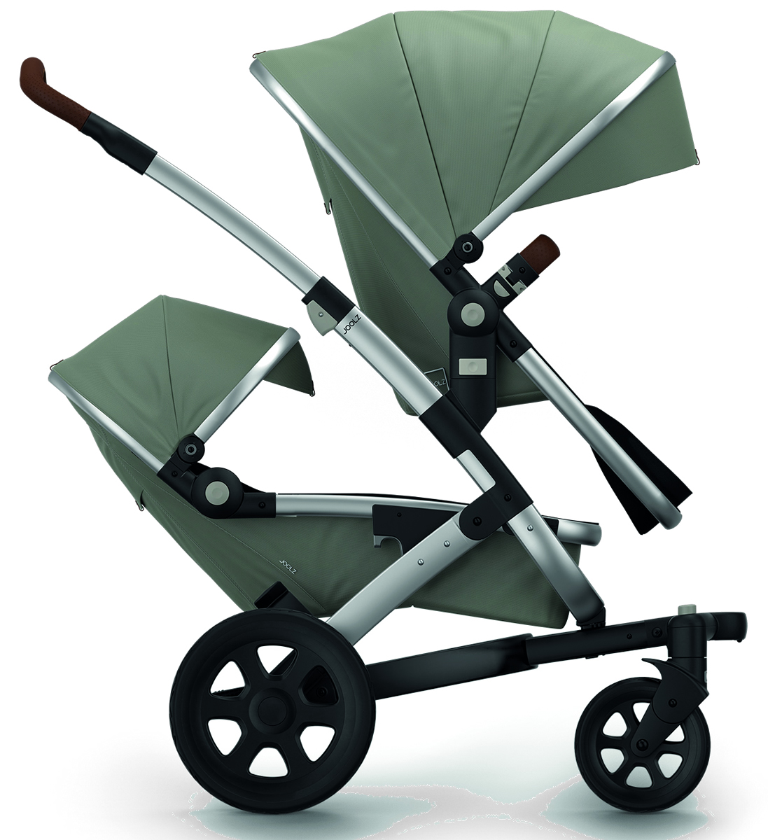 Joolz Geo 2 Earth Twin Stroller - Elephant Grey