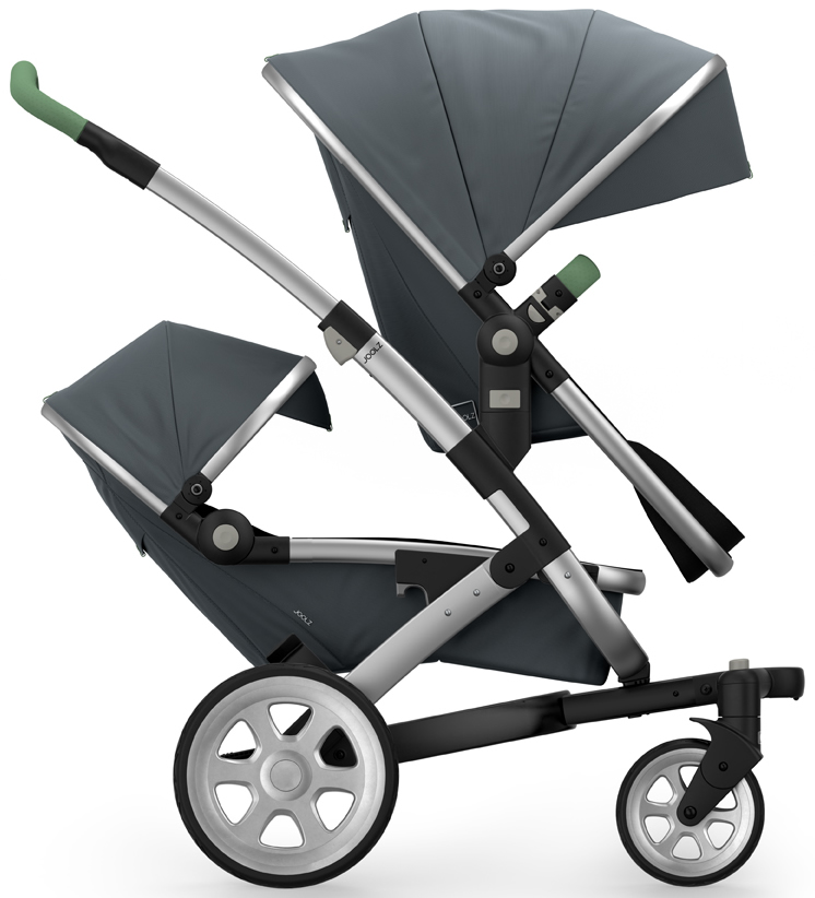 Joolz Geo 2 Tailor Twin Stroller - Silver/Grey/Silver/Mix...