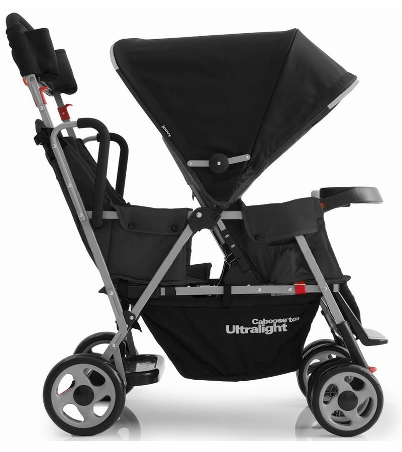 Joovy Sit And Stand Stroller With Car Seat