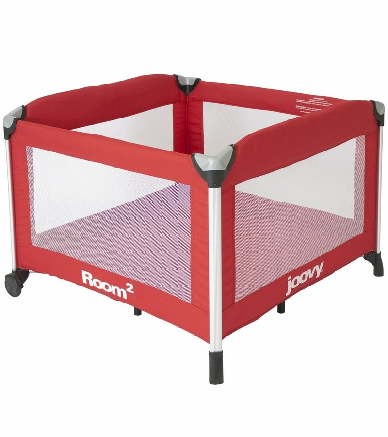 Joovy Room2 Portable Playard In Red