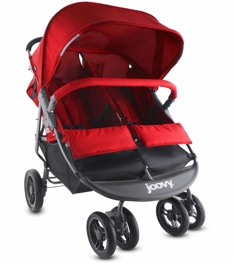 Joovy Scooter X2 Double Stroller Red
