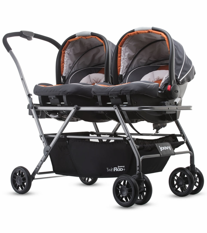 Joovy TwinRoo+ Infant Car Seat Frame Stroller