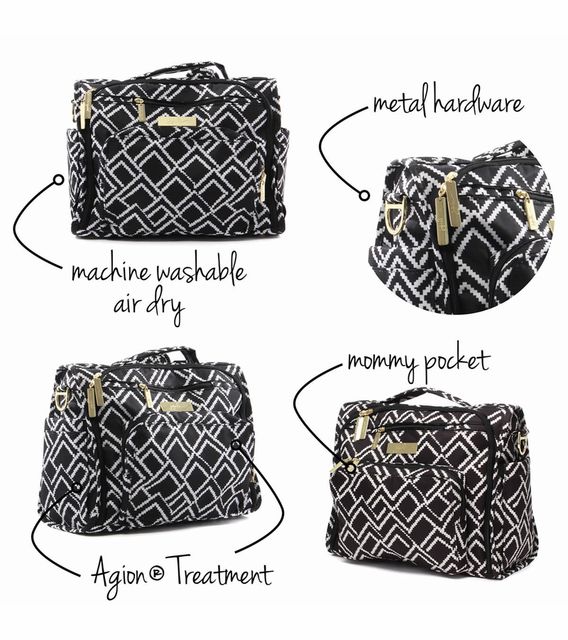 ju ju be b f f diaper bag the empress. Black Bedroom Furniture Sets. Home Design Ideas
